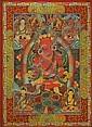 A THANGKA OF THE AMITABHA BUDDHA