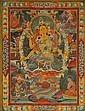 A THANGKA OF THE BUDDHA AMITAYUS