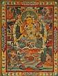 A THANGKA OF THE BUDDHA AMITAYUS