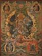 A THANGKA OF THE TRANSCENDENTAL BODHISATTVA MANJUSHRI