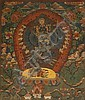 A THANGKA OF THE SADHITA HEVAJRA
