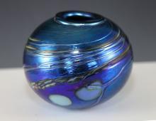 Lloyd Murray - Irredescent Glass Vase
