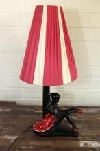 Black Lady Lamp - Ballerina