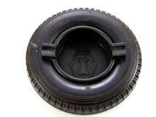 India Super 9.00-20 Tyre Ashtray with Bakelite insert
