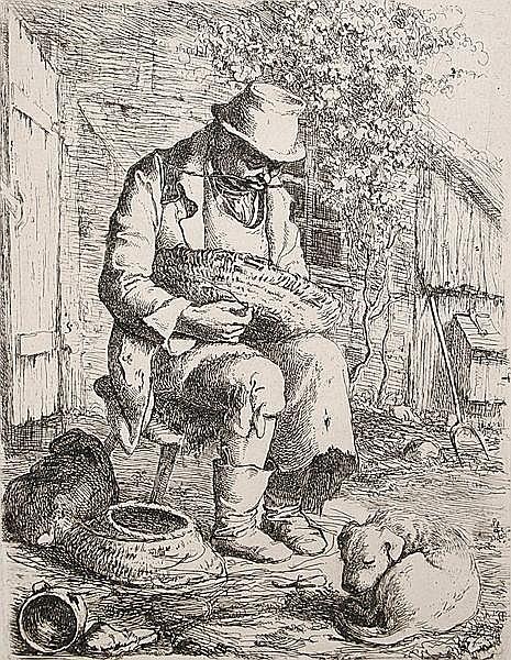 LUDWIG HAACH Meissen 1814 - 1842 Rom