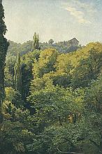 Blick auf die 'Molkenkur' (Heidelberg).