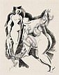 ALEXANDER ARCHIPENKO (1887 - 1964) Zwei weibliche