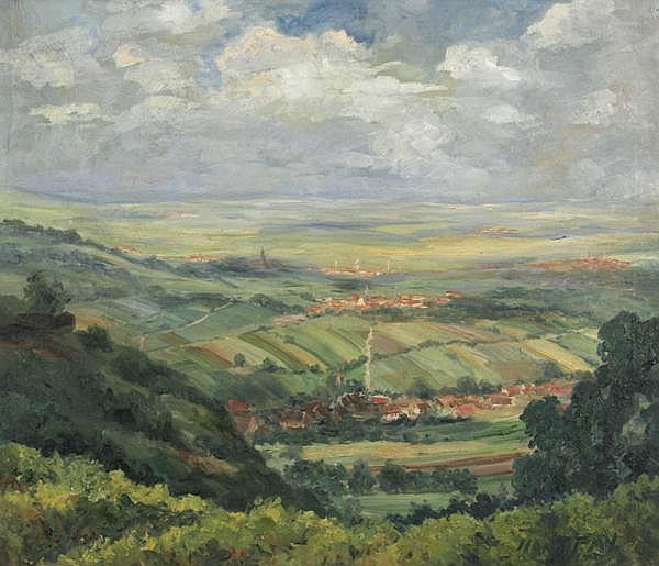 HANNS FAY Frankenthal 1888 - 1957 Neustadt/Weinstr.