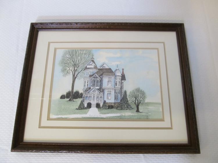 Port Huron Michigan Victorian House Picture