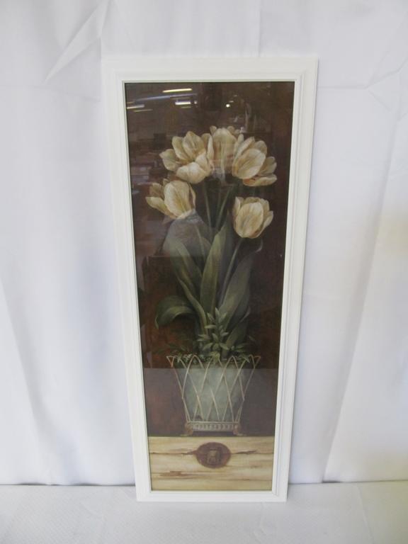 Framed Art of Tulips