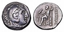 MACEDONIA Alexander III the Great AR Tetradrachm 294 BC greek coin
