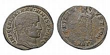 Galerius. 305-311 AD. AE Follis. Antioch mint GENIO POPVLI ROMANI ROMAN COIN
