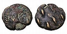 PARTHIAN KINGDOM. Kamnaskires-Orodes. 180 AD. AE Drachm.