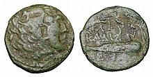 MACEDONIA. Alexander III the Great. 309-313 BC AE unit. Head of Alexander