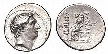 SELEUKID KINGDOM. Demetrios I Soter. 162-155 BC. AR Tetradrachm.