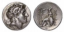KINGDOM OF THRACE. Lysimachos. 297-281 BC. AR Tetradrachm. Mint of Pergamum.