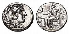 MACEDONIA. Alexander III the Great. 336-323 BC. AR Tetradrachm. Damascus mint. Head of Hercules High grade