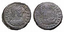 Constans. 337-350 AD. AE Nummus.
