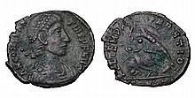 Constantius Gallus. 351-354 AD. AE Nummus.