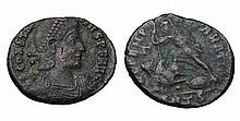 Constantius Gallus. 351-354 AD. AE Nummus. ROMAN COIN