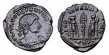 Constantius II. 337-361 AD. AE Nummus.