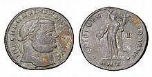 Maximianus. 286-310 AD. AE Follis. GENIO POPVLI ROMANI
