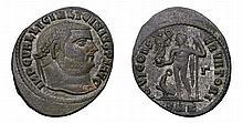 Licinius I. 308-324 AD. AE Follis. Cyzicus mint. IOVI CONSERVATORI