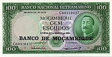 100 ESCUDOS 1961 MOZAMBICO