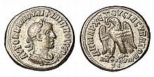 Philip II. 247-249 AD. Syria. Seleucis and Pieria. AR Tetradrachm.Struck 248/249 AD  ROMAN COIN.