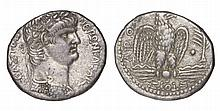 Nero. 54-68 AD. AR Tetradrachm. Syria. Seleucis and Pieria mint. Dated year 9 and year 11 of the Caesarean Era (62/63 AD).