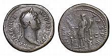 Hadrian. 117-138 AD. AE Sestertius. HILARITAS