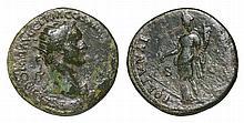 Domitian. 81-96 AD. AE Dupondius. FORTVNA AVGVSTI