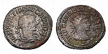 Vabalathus. 271-272 AD. AE Antoninianus.  ROMAN COIN
