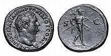 Titus.78-81 AD. AE Sestertius. Extremely rare  ROMAN COIN
