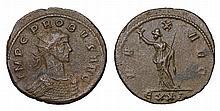Probus. 276-282 AD. AE Antoninianus. PAX AVG  ROMAN COIN