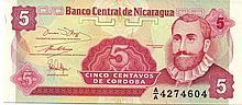 5 CENTAVOS 1991 NICARAGUA
