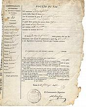Govern of Parma. 1823. Expulsion order for ending of prison forced labor