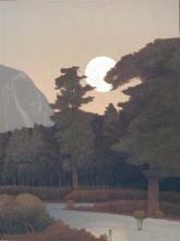 Spring Moonrise over the Sangre de Cristo Mountains