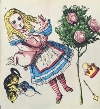 Classic Childrens Book Illustrations - Portfolio of 6 images