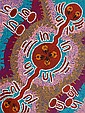 SAMANTHA NAPURRURLA (Aboriginal), Medium: Original Acrylic