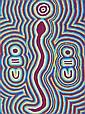 MONICA NAPURRURLA WHITE (Aboriginal), Medium: Original Acrylic