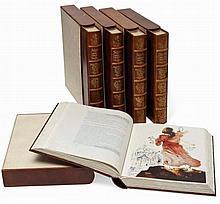 SALVADOR DALI (1904 - 1989), Medium: STUNNING LIMITED EDITION FOLIO OF 105 ORIGINAL 1967 LITHOGRAPHS, Title: `BIBLIA SACRA`