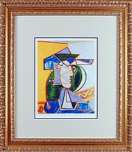 PABLO PICASSO , Medium: LIMITED EDITION LITHOGRAPH - BRAND NEW FRAME, Title: `Untitled`