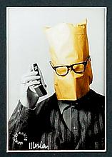 LEWIS MORLEY (1925 - 2013), Medium: Hand Signed Original Polaroid - ARTISTS ESTATE, Title: `George Hoole as `Spotty Muldoon``