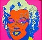 AFTER ANDY WARHOL (1928 - 1987), Colour Screenprint, Title:  Marilyn, Sunday B Morning Series