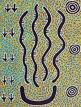 VIVIENNE NAKAMARRA,  'Water Dreaming'