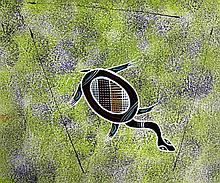REG PENGARTE,  'Bush Tucker Series - Turtle'