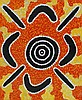 MICHAEL NELSON TJAKAMARRA,  'Kangaroo Dreaming', Michael Nelson Tjakamarra, Click for value