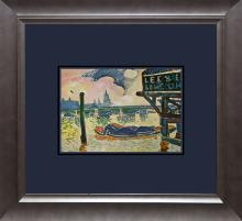 Andre Derain Color Plate Lithograph from 1957 Paris.