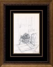 Alberto Giacometti Lithograph 1973